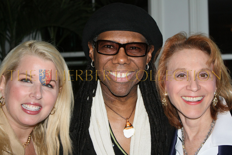 Riota Cosby, Niles Rodgers, Dr. Judy