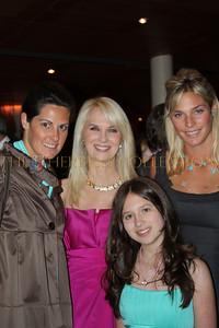 Mimi Crume, Sara Herbert-Galloway, Alana Galloway (front) and Betsy Bingle