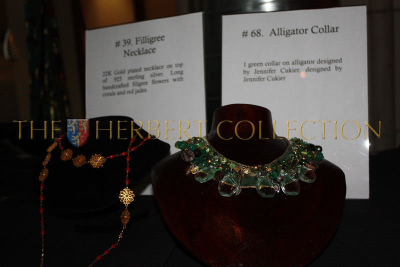 Jewelry donated by Jennifer Cukier