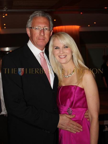 Barry Klarberg and Sara Herbert-Galloway, Chair A.C.E.