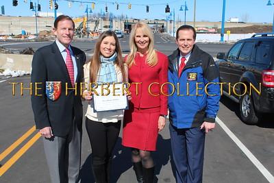 Senator Richard Blumenthal, Alana Galloway, Sara Herbert-Galloway, Frank Recchia News 12 CT