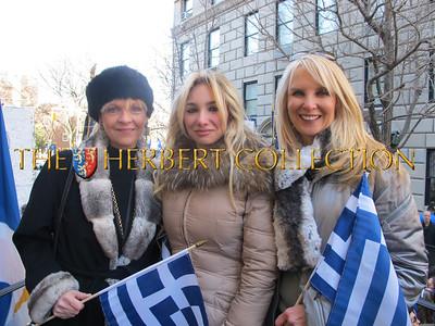 "Margo Catsimatidis, Andrea ""A.J."" Catsimatidis, Sara Herbert-Galloway"