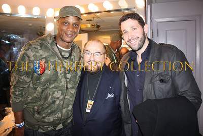 """Darryl Strawberry, James Lipton, 'The Actors Studio', and Eytan Sugarman 'Souther Hospitality and Daryl Strawberry's Restaurants""""  backstage, Radio City Music Hall  after Charlie Sheen's 'Violent Torpedo of Truth, Defeat is Not an Option Show 2011"""""""