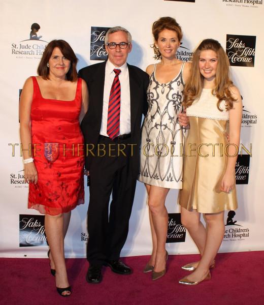 Deborah Johnson; fashion designer, Steve Hellerstein; photographer,  Belinda Johnson and daughter Sara Siegel