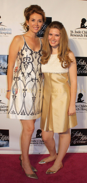 Model Belinda Johnson and daughter Sara Siegel