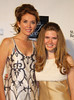 Committee member, model; Belinda Johnson and daughter Sara Siegel