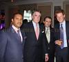 H.E. Ambassador Francis Lorenzo, guest, Richard Lukaj (Managing Partner Bank Street Group and our Host), Prince Henry of Wales