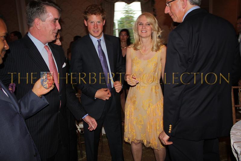 Prince Henry (Harry) of Wales, Sara Herbert-Galloway and Barry Klarberg