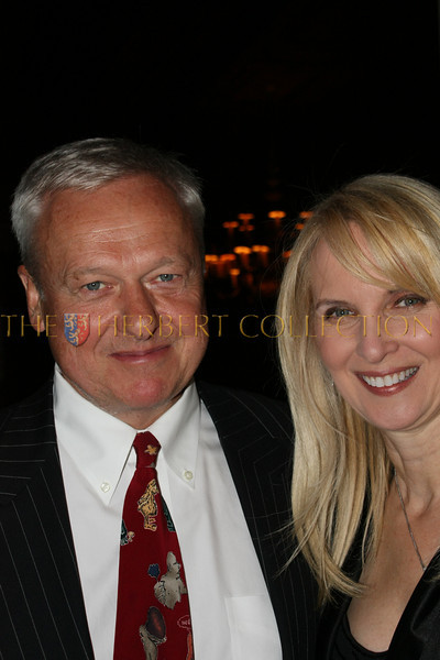 Hans Amell, corporate chair and Sara Herbert-Galloway, chair
