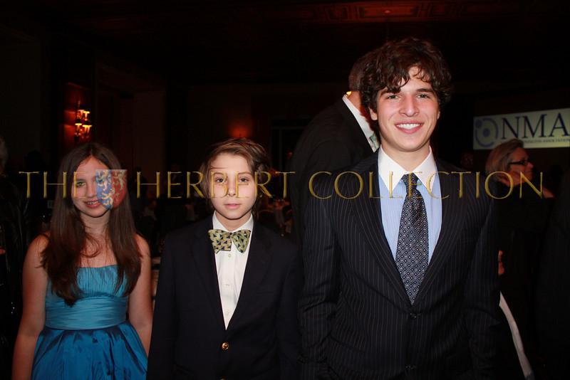 Alana Galloway, Montana Thomas and Justin Galloway