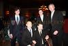 Justin Galloway, Hockey Legend Adam Graves, Gold Medal Winner Nick Springer, (back) Matt Klarberg, Barry Klarberg edit