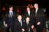 Justin Galloway, Hockey Legend Adam Graves, Gold Medal Winner Nick Springer, (back) Matt Klarberg, Barry Klarberg