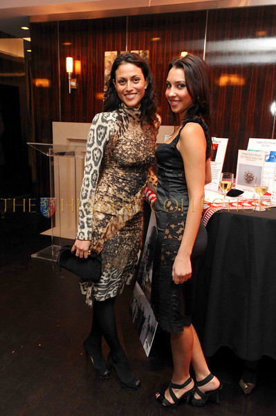 """NEW YORK-NOVEMBER 12:  Ana Savoy and Agnes Cabola attend Life Project for Africa's """"Save Life, Give Hope"""" Benefit for the Children of Tanzania at Penthouse home of Andrew Barron Worden,  50 Central Park South, The Ritz Carlton Private Residences, New York, NY on Wednesday, November 12, 2008 (Photo Credit: Gregory Partanio/ManhattanSociety.com)"""