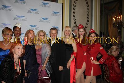 Front: Dr. Judy Kuriansky, Bertie Lowenstein, Liberty Bell, Lauren Lawrence, Rita Cosby, Tomaczek Bednarek, Sara Herbert-Galloway and The USO Liberty Bells