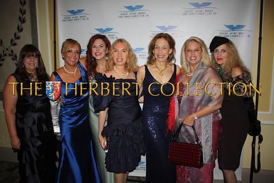 Norma Abbene, Roberta Lowenstein, Lorraine Cancro, Lauren Lawrence, Mitzi Perdue, Rita Cosby, Joyce Brooks