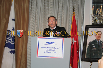 General David H. Petraeus, US Army Retired, Director Central Intelligence Agency receives Service to the Nation Award