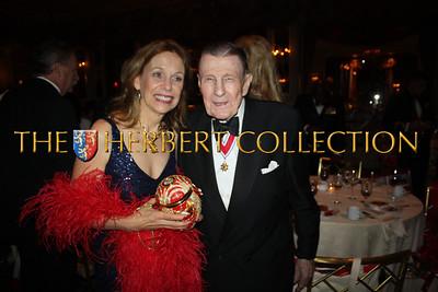 Mitzi Perdue and Ivan Obolensky