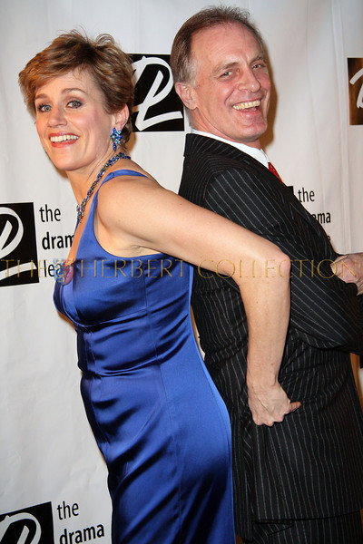 New York - February 2: Cady Huffman and Keith Carrodine in attendance at the Drama League's 25th annual All Star benefit gala at The Rainbow Room on Monday, February 2, 2009 in New York, NY.  (Photo by Steve Mack/S.D. Mack Pictures)