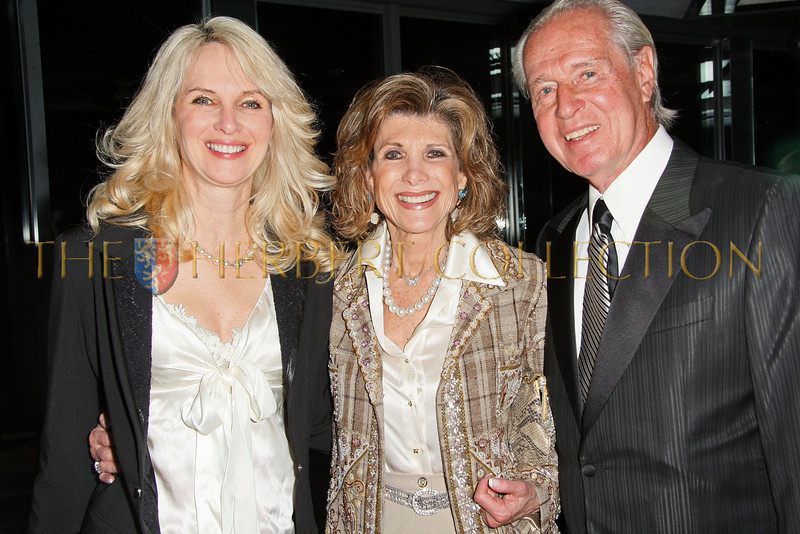 New York - February 2: Sara Herbert-Galloway, Ellie Wohl and Marty Greitzer in attendance at the Drama League's 25th annual All Star benefit gala at The Rainbow Room on Monday, February 2, 2009 in New York, NY.  (Photo by Steve Mack/S.D. Mack Pictures)