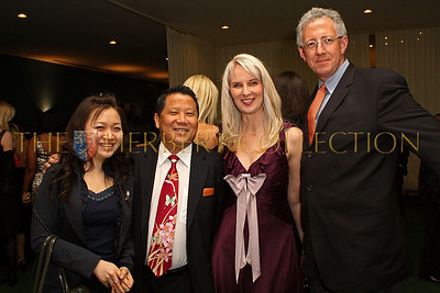 NEW YORK - MARCH 17:  Guest, World Harmony Alliance Chairman David NG, Charity Consultant Sara Herbert-Galloway and Wealth Manager Barry Klarberg attend the MDG Awards global launch event at the United Nations building on March 17, 2009 in New York City.  (Photo by Steve Mack/S.D. Mack Pictures) *** Local Caption *** David NG; Sara Herbert-Galloway; Barry Klarberg