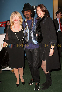 NEW YORK - MARCH 17:  Paola Rosenshein, Musician KÕnaan and Anne Besemant Cohen attend the MDG Awards global launch event at the United Nations building on March 17, 2009 in New York City.  (Photo by Steve Mack/S.D. Mack Pictures) *** Local Caption *** Paola Rosenshein; Musician KÕnaan; Anne Besemant Cohen