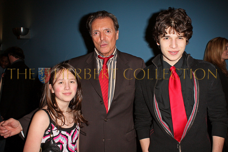 NEW YORK - MARCH 17:  Alana Galloway, Actor Armand Assante and Justin Pierce Galloway attend the MDG Awards global launch event at the United Nations building on March 17, 2009 in New York City.  (Photo by Steve Mack/S.D. Mack Pictures) *** Local Caption *** Alana Galloway; Armand Assante; Justin Galloway
