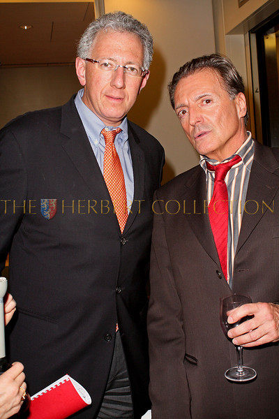 NEW YORK - MARCH 17:  Wealth Manager Barry Klarberg and Actor Armand Assante attend the MDG Awards global launch event at the United Nations building on March 17, 2009 in New York City.  (Photo by Steve Mack/S.D. Mack Pictures) *** Local Caption *** Barry Klarberg; Armand Assante