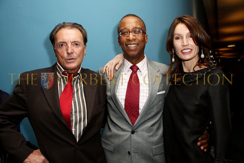 NEW YORK - MARCH 17:  Actor Armand Assante, Joseph Placide and Anne Besemant Cohen attend the MDG Awards global launch event at the United Nations building on March 17, 2009 in New York City.  (Photo by Steve Mack/S.D. Mack Pictures) *** Local Caption *** Armand Assante; Joseph Placide; Anne Besemant Cohen