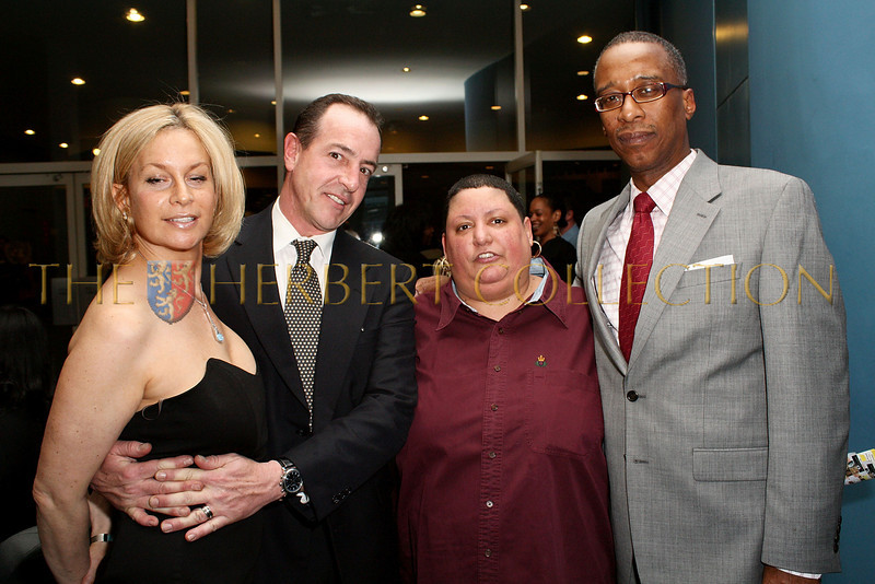 NEW YORK - MARCH 17:  Divorce lawyer Leslie Barbara, Michael Lohan, Rev. Carmen Hernandez and Joseph Placide attend the MDG Awards global launch event at the United Nations building on March 17, 2009 in New York City.  (Photo by Steve Mack/S.D. Mack Pictures) *** Local Caption *** Leslie Barbara; Michael Lohan; Carmen Hernandez; Joseph Placide