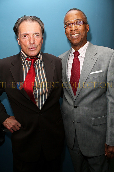 NEW YORK - MARCH 17:  Actor Armand Assante and Joseph Placide attends the MDG Awards global launch event at the United Nations building on March 17, 2009 in New York City.  (Photo by Steve Mack/S.D. Mack Pictures) *** Local Caption *** Armand Assante; Joseph Placide