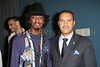 NEW YORK - MARCH 17:  Musician KÕnaan and Ambassador Francis Lorenzo, Permanent Mission of the Dominican Republic to the UN attend the MDG Awards global launch event at the United Nations building on March 17, 2009 in New York City.  (Photo by Steve Mack/S.D. Mack Pictures) *** Local Caption *** KÕnaan; Francis Lorenzo