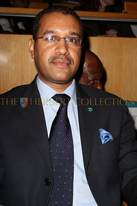 NEW YORK - MARCH 17:  Ambassador Francis Lorenzo, Permanent Mission of the Dominican Republic to the UN attends the MDG Awards global launch event at the United Nations building on March 17, 2009 in New York City.  (Photo by Steve Mack/S.D. Mack Pictures) *** Local Caption *** Francis Lorenzo