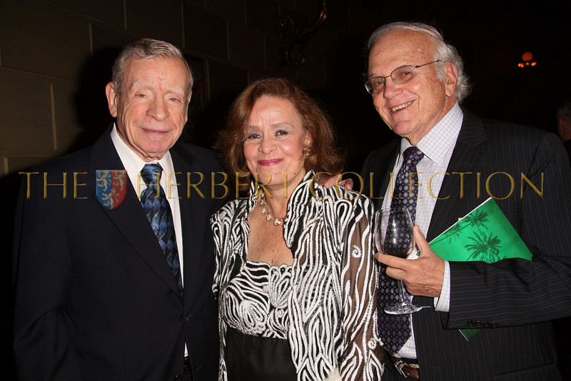 New York - November 6: Herbert Tarr, Sylvia and irving Kaminetsky at The American Friends of Jamaica's 27th Annual Gala and Auction at Gotham on Thursday, November 6, 2008 in New York, NY.  (Photo by Steve Mack/S.D. Mack Pictures)