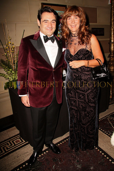 New York - November 6: Max Girombelli and Manuela Goren at The American Friends of Jamaica's 27th Annual Gala and Auction at Gotham on Thursday, November 6, 2008 in New York, NY.  (Photo by Steve Mack/S.D. Mack Pictures)