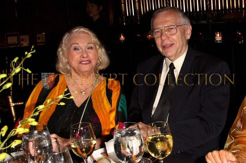 New York - November 6: TV Personality Dorothy Dunne and TV Broadcaster/Personality James Chladek at The American Friends of Jamaica's 27th Annual Gala and Auction at Gotham on Thursday, November 6, 2008 in New York, NY.  (Photo by Steve Mack/S.D. Mack Pictures)
