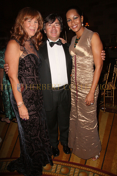 New York - November 6: Manuela Goren, James Goren and Violet Chang at The American Friends of Jamaica's 27th Annual Gala and Auction at Gotham on Thursday, November 6, 2008 in New York, NY.  (Photo by Steve Mack/S.D. Mack Pictures)