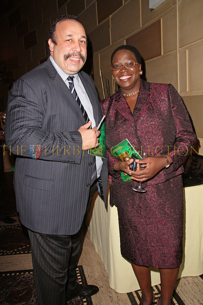New York - November 6: Eric Williams and Enith Williams at The American Friends of Jamaica's 27th Annual Gala and Auction at Gotham on Thursday, November 6, 2008 in New York, NY.  (Photo by Steve Mack/S.D. Mack Pictures)