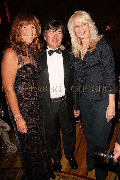 New York - November 6: Manuela Goren, James Goren and Sara Herbert-Galloway at The American Friends of Jamaica's 27th Annual Gala and Auction at Gotham on Thursday, November 6, 2008 in New York, NY.  (Photo by Steve Mack/S.D. Mack Pictures)