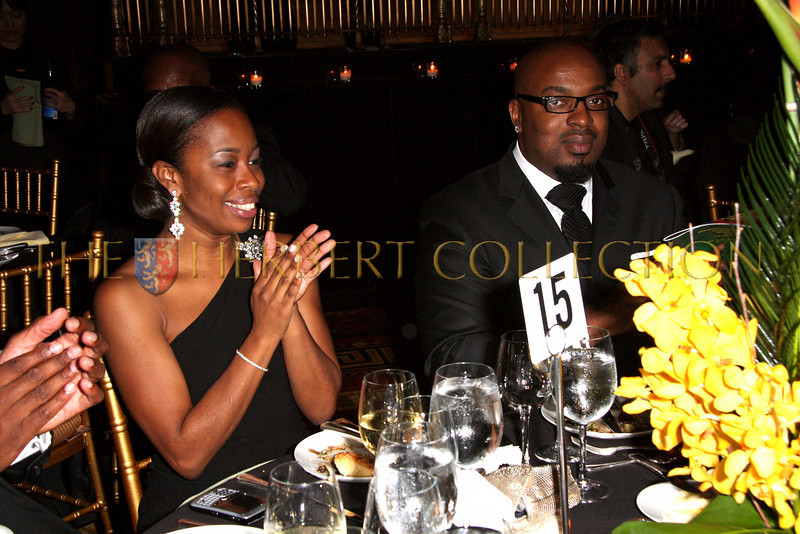 New York - November 6: Guests at The American Friends of Jamaica's 27th Annual Gala and Auction at Gotham on Thursday, November 6, 2008 in New York, NY.  (Photo by Steve Mack/S.D. Mack Pictures)