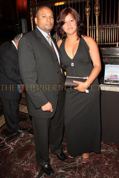New York - November 6: Randy Samaroo and Bebe Bhajan at The American Friends of Jamaica's 27th Annual Gala and Auction at Gotham on Thursday, November 6, 2008 in New York, NY.  (Photo by Steve Mack/S.D. Mack Pictures)