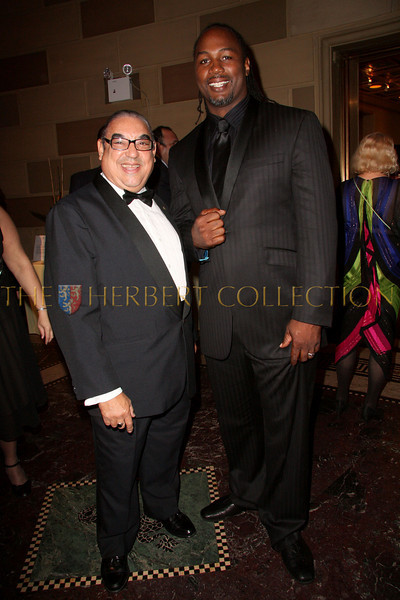 New York - November 6: Robert MacMillan and Lennox Lewis at The American Friends of Jamaica's 27th Annual Gala and Auction at Gotham on Thursday, November 6, 2008 in New York, NY.  (Photo by Steve Mack/S.D. Mack Pictures)