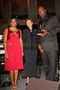 New York - November 6: Executive Director Keisha Phipps, Former US Ambassador to Jamaica Sue Cobb and Lennox Lewis at The American Friends of Jamaica's 27th Annual Gala and Auction at Gotham on Thursday, November 6, 2008 in New York, NY.  (Photo by Steve Mack/S.D. Mack Pictures)