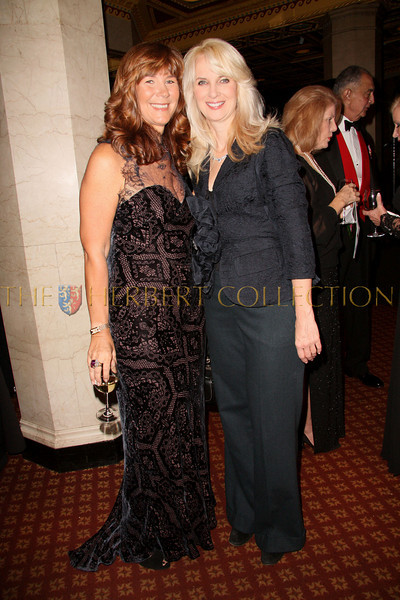 New York - November 6: Manuela Goren and Sara Herbert-Galloway at The American Friends of Jamaica's 27th Annual Gala and Auction at Gotham on Thursday, November 6, 2008 in New York, NY.  (Photo by Steve Mack/S.D. Mack Pictures)