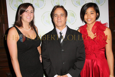 NEW YORK - OCTOBER 2:  Kelly Corrado, WWCF President James Cavallo and Sumika Kahn attend The Worldwide Children's Foundation Fundraising Gala at The National Arts Club in New York City. (Photo by Steve Mack/S.D. Mack Pictures)