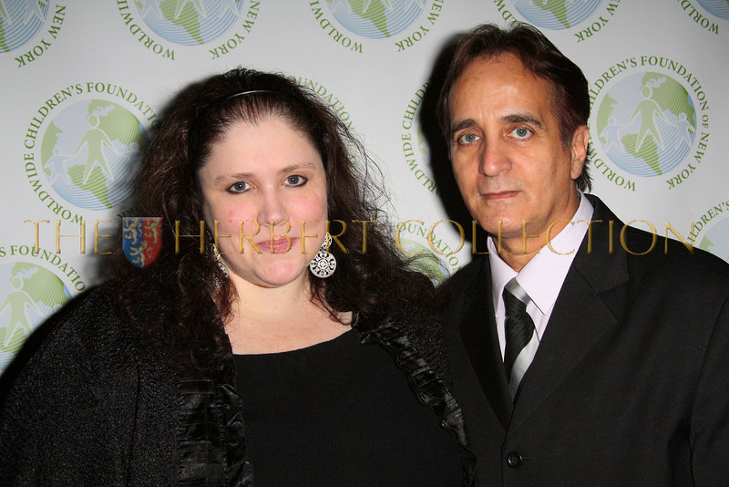 NEW YORK - OCTOBER 2:  WWCF board member Jennifer Maloney and WWCF President James Cavallo attend The Worldwide Children's Foundation Fundraising Gala at The National Arts Club in New York City. (Photo by Steve Mack/S.D. Mack Pictures)