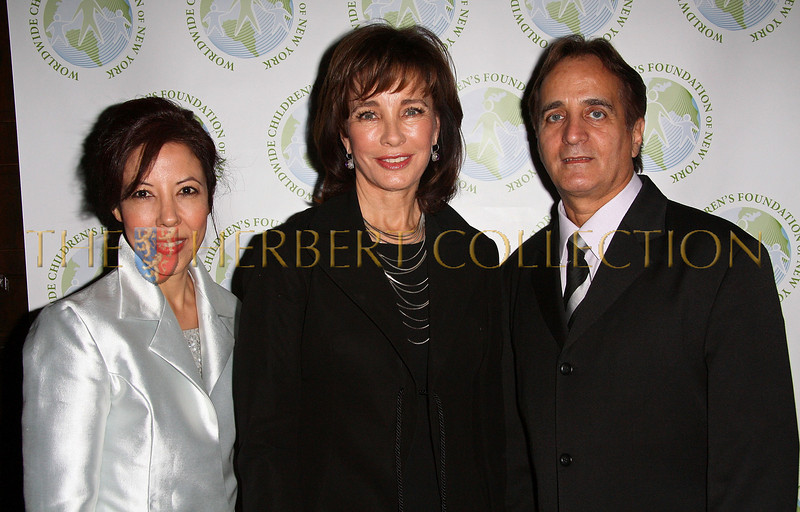 NEW YORK - OCTOBER 02:  Worldwide Children's Foundation Vice President Margarite Almeida, Actress Anne Archer and Worldwide Children's Foundation President James Cavallo attend the Worldwide Children's Foundation Fundraising Gala at The National Arts Club in New York City.  (Photo by Steve Mack/S.D. Mack Pictures) *** Local Caption *** James Cavallo; Anne Archer; Margarite Almeida
