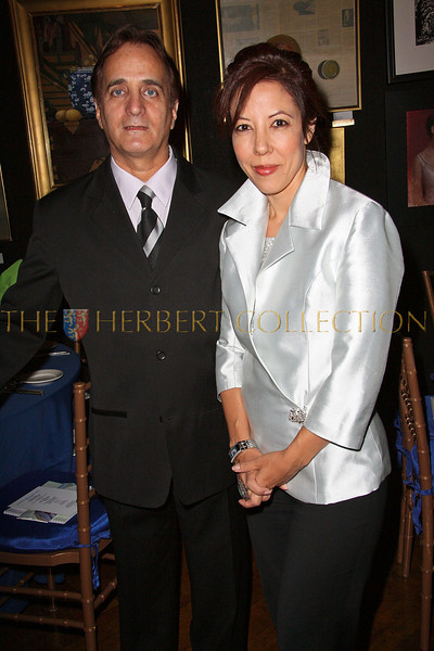 NEW YORK - OCTOBER 02:  Worldwide Children's Foundation President James Cavallo and Executive Director Margarite Almeida attend the Worldwide Children's Foundation Fundraising Gala at The National Arts Club in New York City.  (Photo by Steve Mack/S.D. Mack Pictures) *** Local Caption *** Anne Archer; Margarite Almeida
