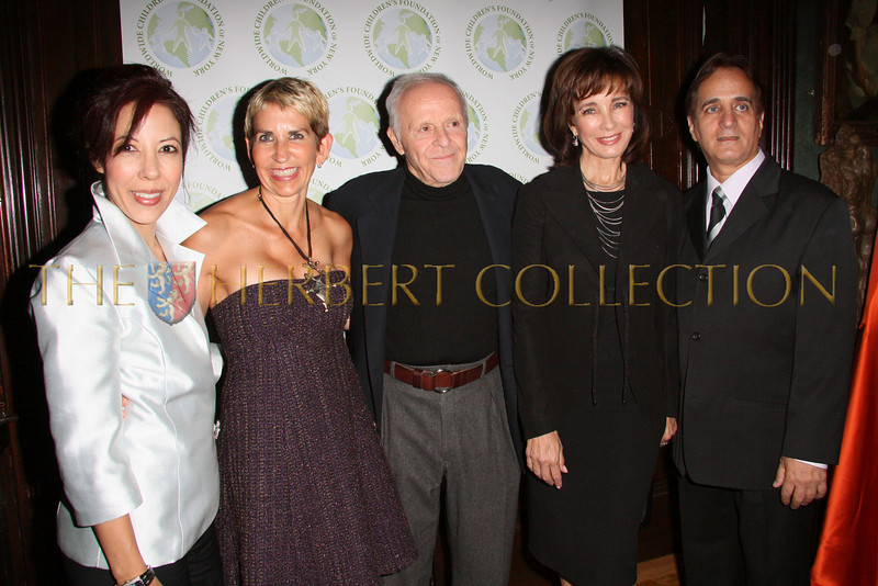 NEW YORK - OCTOBER 2:  Worldwide Children's Foundation of New York Vice President Margarite Almeida, Sarah Dupont, Henry Buhl, Actress Anne Archer and WWCF President James Cavallo attend The Worldwide Children's Foundation Fundraising Gala at The National Arts Club in New York City. (Photo by Steve Mack/S.D. Mack Pictures)