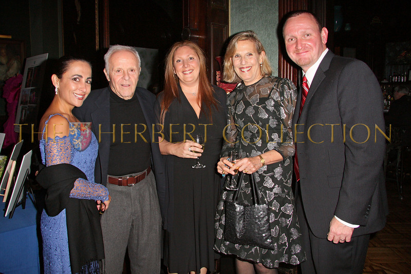 NEW YORK - OCTOBER 2:  Saundra Sanches, Henry Buhl, Gail Martin, Susan Needles and James Martin attend The Worldwide Children's Foundation Fundraising Gala at The National Arts Club in New York City. (Photo by Steve Mack/S.D. Mack Pictures)