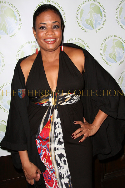 NEW YORK - OCTOBER 02:  Singer Angela Workman attends the Worldwide Children's Foundation Fundraising Gala at The National Arts Club in New York City.  (Photo by Steve Mack/S.D. Mack Pictures) *** Local Caption *** Angela Workman
